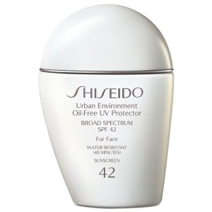 Shiseido白胖子无油防晒SPF 42, 1 oz