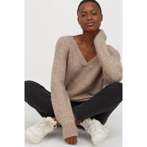 H&MV-neck Sweater
