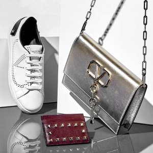 低至5折 铆钉芭蕾平底$505Gilt  华伦天奴 美包美鞋专场特卖