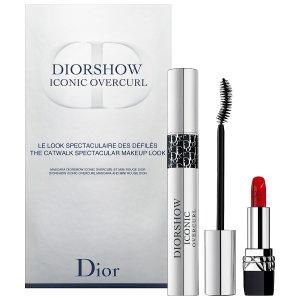 $37+送中样好礼上新:Dior 迪奥 正装睫毛膏+迷你唇膏999 限量套装