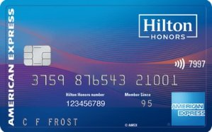 Limited Time Offer: Earn 100,000 Hilton Honors Bonus Points Terms ApplyHilton Honors Ascend Card from American Express