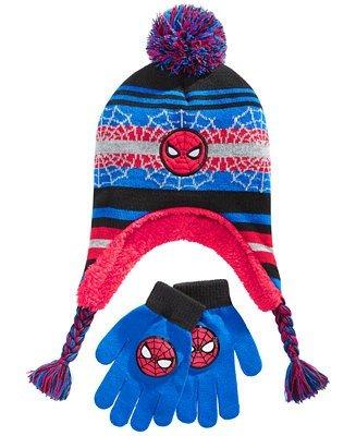 蜘蛛侠帽子手套套装