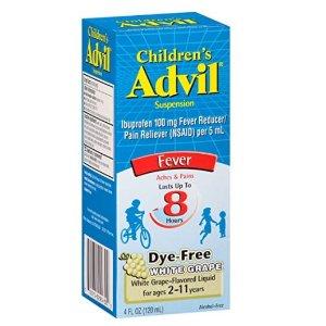 低至8.5折+包邮Advil 成人、儿童发烧止痛片特卖