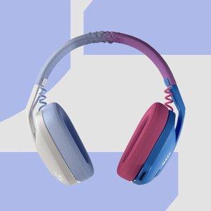 $79.99 多彩外观 仅165g新品上市:Logitech G435 Lightspeed 无线游戏耳机
