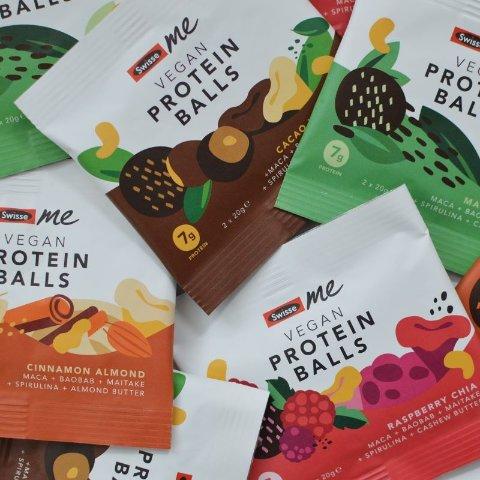 无门槛5折 68p/个Swisse 清仓精选小零食 低卡蛋白球 空气巧克力口感