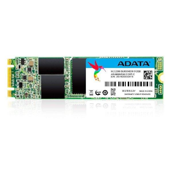 ADATA SU800 512GB M.2 2280 固态硬盘