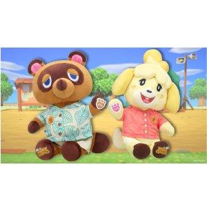存量极小, 拼手速咯【电玩日报5/3】Build a bear × 动森 联名有声公仔今日再来