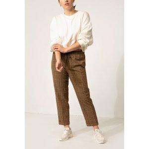 Oak + Fort格纹休闲裤