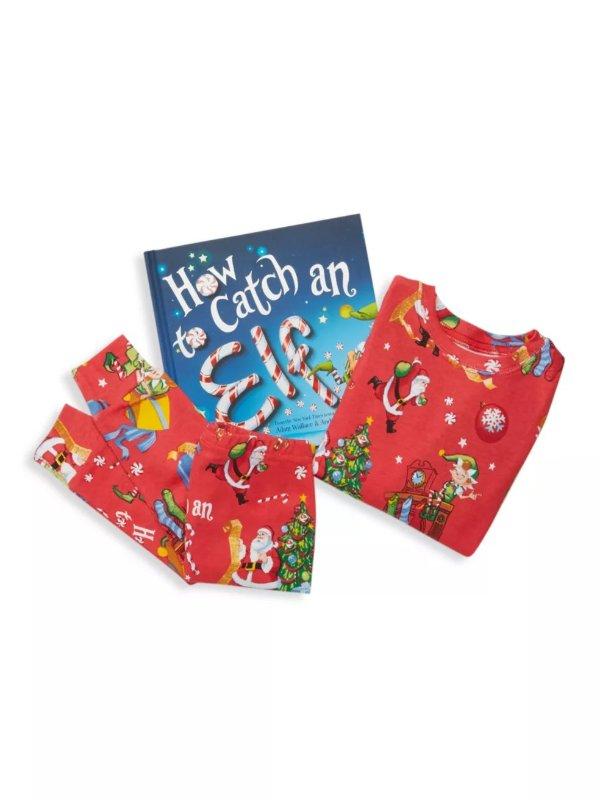 男小童睡衣套装+图书