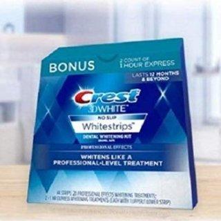 Prime Day 口腔护理产品TOP榜单Amazon 3D 美白牙贴10张+ 美白蓝光仪$44 Crest 美白牙贴$19