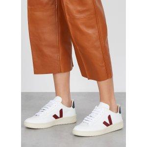 VejaV-12 white leather sneakers