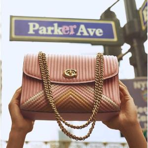 低至7折 冰蓝色$200最后一天:Parker系列包包大促 收封面拼色款