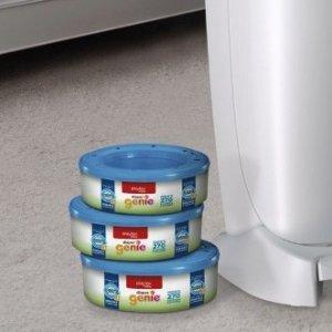 $18.97(原价$24.99)Playtex Diaper Genie 尿布桶垃圾袋替换芯 3盒装