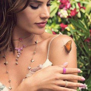 7折优惠Swarovski Lilia 浪漫蝴蝶系列特卖 超模AA,KK同款