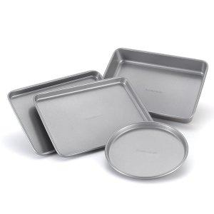 Farberware Bakeware Steel Nonstick 4-Piece Baking Set