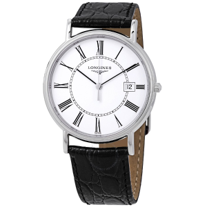 LonginesPresence White Matte Dial Men's Watch