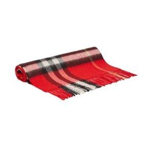 Burberry官网$600羊绒围巾