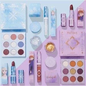 限时8折 $12入Elsa盘上新:Colourpop x Frozen II 冰雪奇缘联名系列 闪亮开售