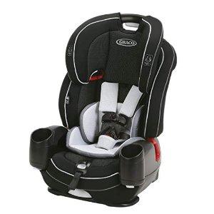 $153.99(原价$219.99)+包邮史低价:Graco Nautilus SnugLock LX 3合1高背安全座椅,两色可选