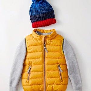 6折Hanna Andersson 儿童冬季服饰促销 有最畅销的羽绒服