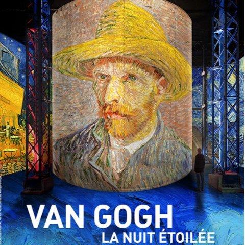 沉浸式灯光秀 学生票仅需€12.52019不容错过的巴黎展览 光之工坊的《梵高,星夜》