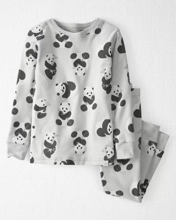 小童有机棉睡衣套装