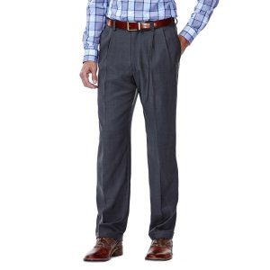 HaggarE-CLO™ Stria Dress Pant
