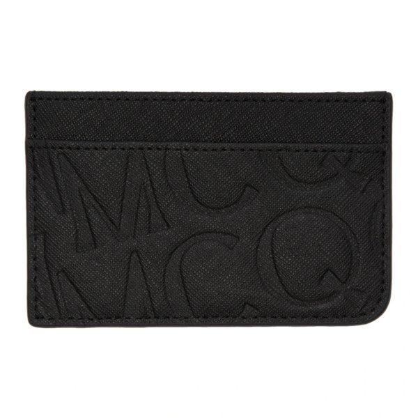 黑色压纹卡包