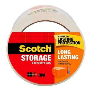 Scotch 强力打包透明胶带, 1.88 in. x 54.6 yd, 1 Roll/Pack