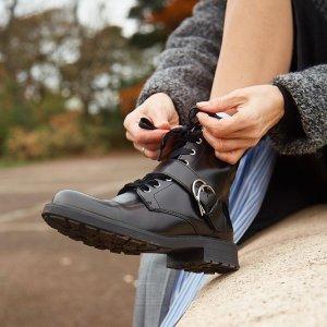 低至5折 €31收乐福鞋Clarks官网 女鞋热促中 经典英伦风 好穿舒适等你来收