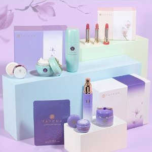 Free Gift ($68 value)with any $100+ Purchase @ Tatcha