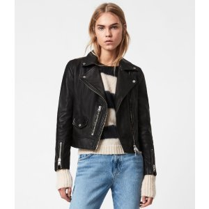 Kara Leather黑色皮衣