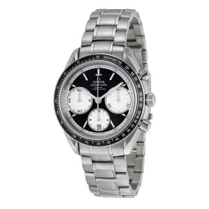OmegaSpeedmaster Racing Black Dial Stainless Steel Men's Watch