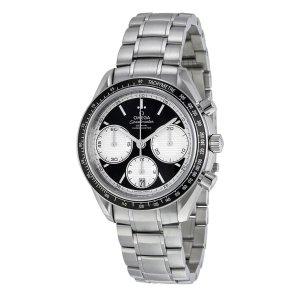 OmegaSpeedmaster Racing Black Dial Stainless Steel Men's Watch