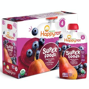 Extra 25% OffSelect Happy Tot、Sprout、Plum Baby Food Sale @ Amazon.com