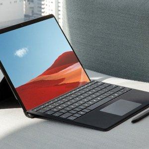 $1699(原价$2098.98)Surface Pro X+黑色键盘+手写笔套装