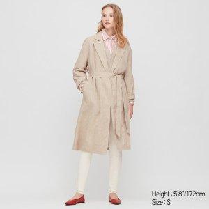 Uniqlo亚麻外套
