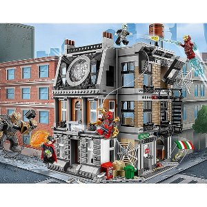 Amazon LEGO Super Heroes Sanctum Sanctorum Showdown 76108 Building Kit (1004 Piece)