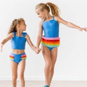 Hanna Andersson 儿童泳衣、防晒服、沙滩浴巾年中大促