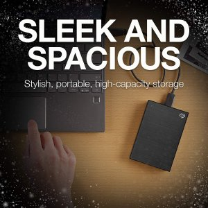 $129.99 (原价$149.99)史低价:Seagate 希捷 Backup Plus 5TB便携外置移动硬盘