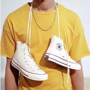 折扣区5折起+额外9折最后一天:Converse 潮流时尚帆布鞋特卖,$29收All Star