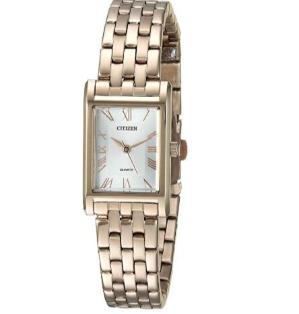 $115.38 (原价$195)Citizen EJ6123-56A 时尚优雅女士石英腕表