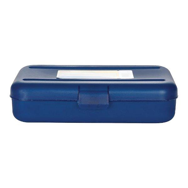 铅笔盒,蓝色