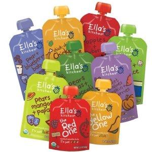 额外8折Ella's Kitchen 婴儿辅食零食促销