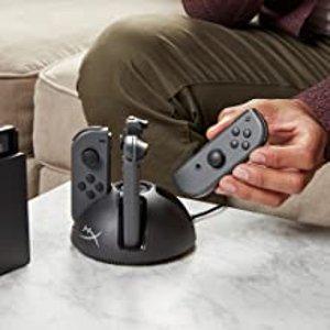 8.8折 优惠价€21.91HyperX Chargeplay Quad Joy-Con 充电底座