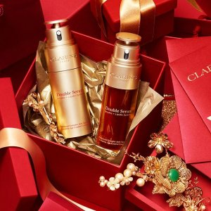Up to $118 GiftsClarins Skincare and Beauty Sale