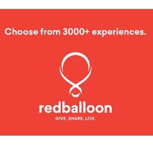满$150减$28RedBalloon 户外体验网站限时折扣 跳伞、赛车、潜水等都有