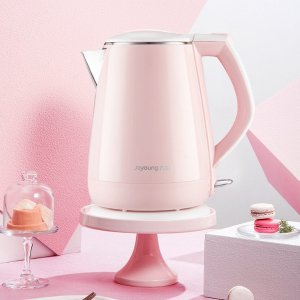JOYOUNG Princess Series Electric Water Kettle Pink 1.5L