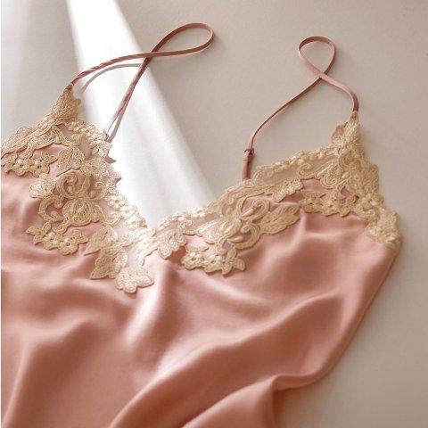 3折起 丝绸睡衣裙$217La Perla 意大利殿堂级内衣 精致优雅 非凡享受