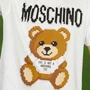 低至5折+额外8折 好价回归Moschino 特卖开启 $100+收小熊T